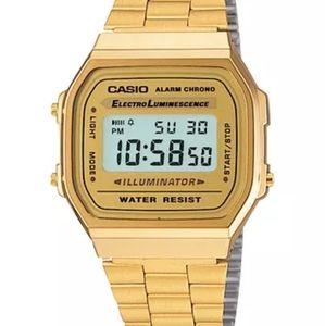 CASIO Digital Stainless Steel Watch
